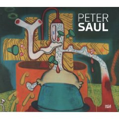 Peter Saul Illustrated Hardcover  - $49.000