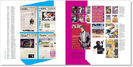Mute Magazine  - Graphic Design  -