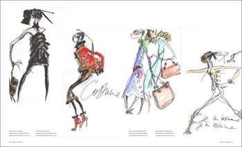 Fashion Illustration by Fashion Designers   -