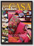 Arte De Tejer Crochet Casa - Revista - $12.900