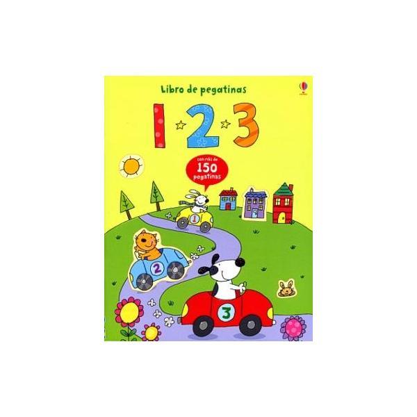 1,2,3 Libro De Pegatinas - $13.000