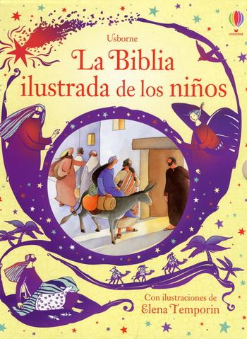 La Biblia ilustrada de los niños  (Edición de lujo) - $5.900