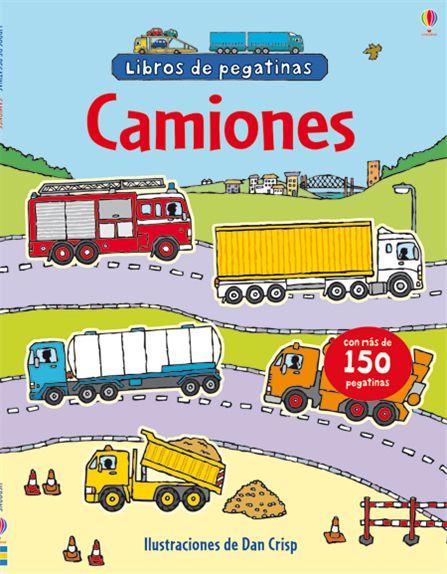 CAMIONES, LIBRO DE PEGATINAS             - $6.900