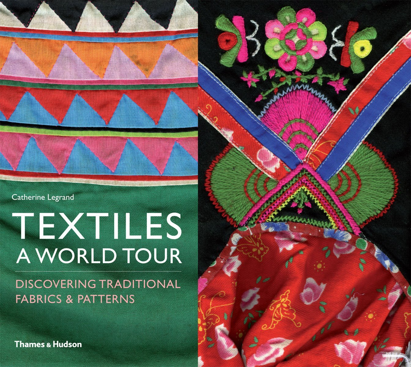 Textiles A Word Tour - Discovering Traditional Frabrics y Patterns - $26.000