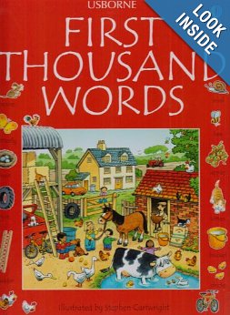 First Thousand Words in English  - $7.900