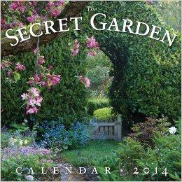Secret Garden 2014 Wall Calendar -