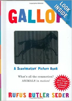 Gallop A Scanimation Picture Book - $9.900