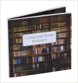 Living With Books Bookplates - $9.900