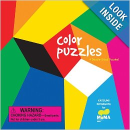 MoMA Color Puzzles 4 Double Sided Puzzles - $6.900