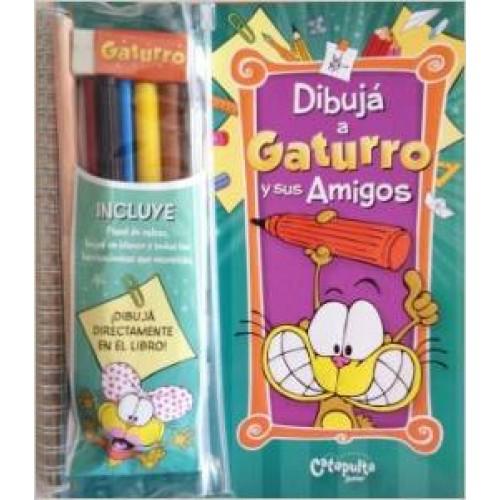 Dibuja A Gaturro Y Sus Amigos - $12.900