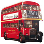 london bus - MAGNETOS DECORATIVOS - $2.000