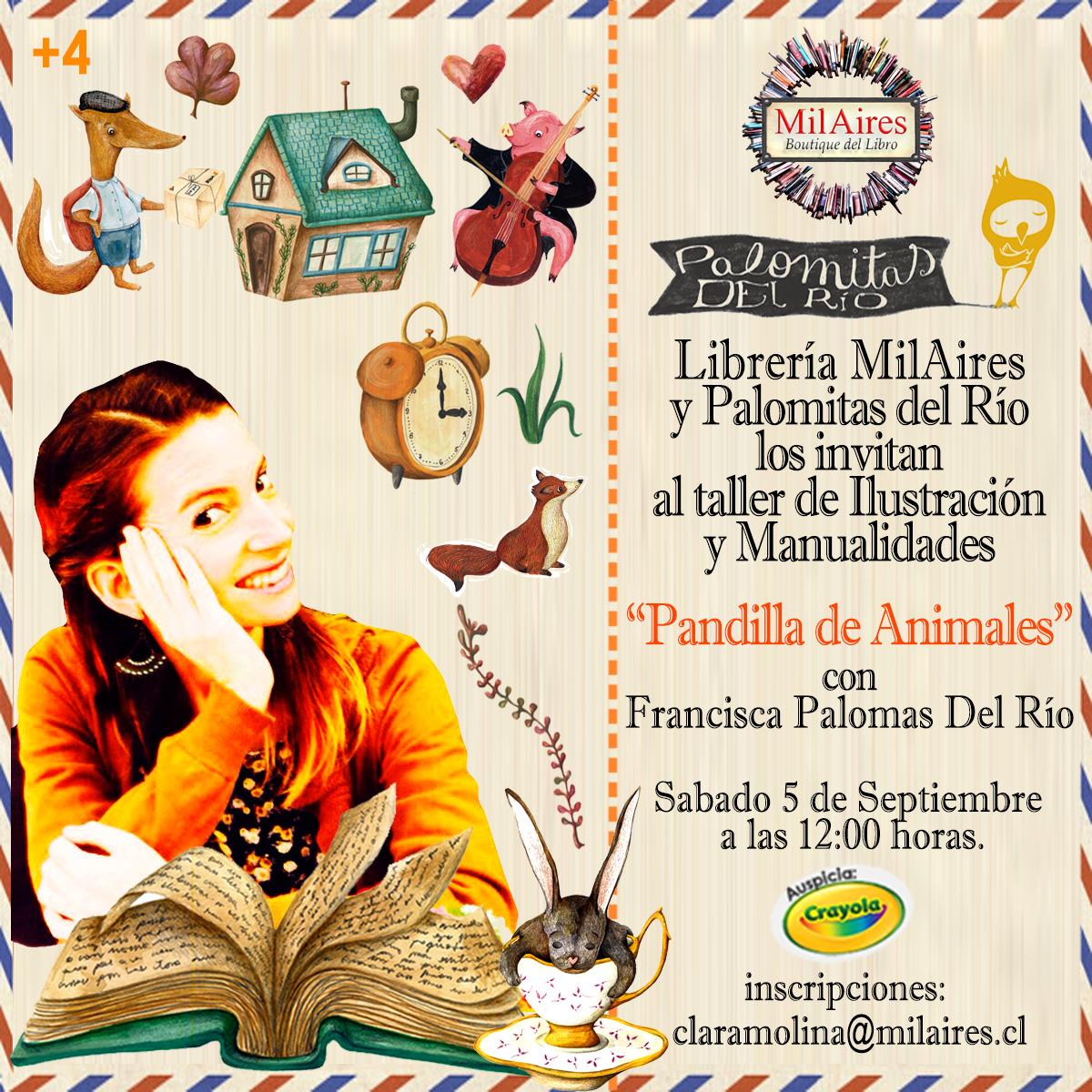 TAller con la Ilustradora Francisca Palomas del R�o