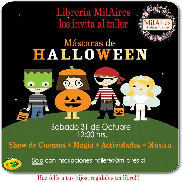 Taller de M�scaras de Halloween - MilAires, La Tienda.