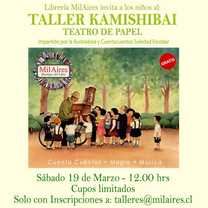 Taller kamishibai , 19 de marzo  - MilAires, Boutique del Libro.