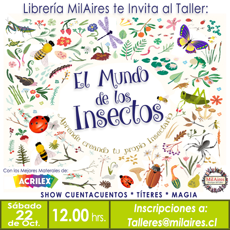 Taller  El mundo de los insectos - MilAires, La Tienda.