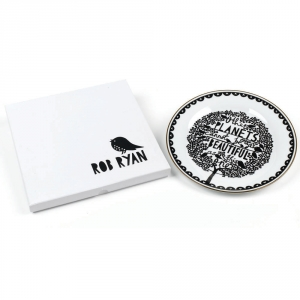 RR. Plato decorativo Rob Ryan - $19.000